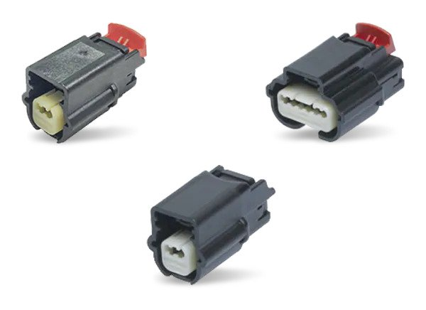 Molex MX64 Sealed Single Row Connectors